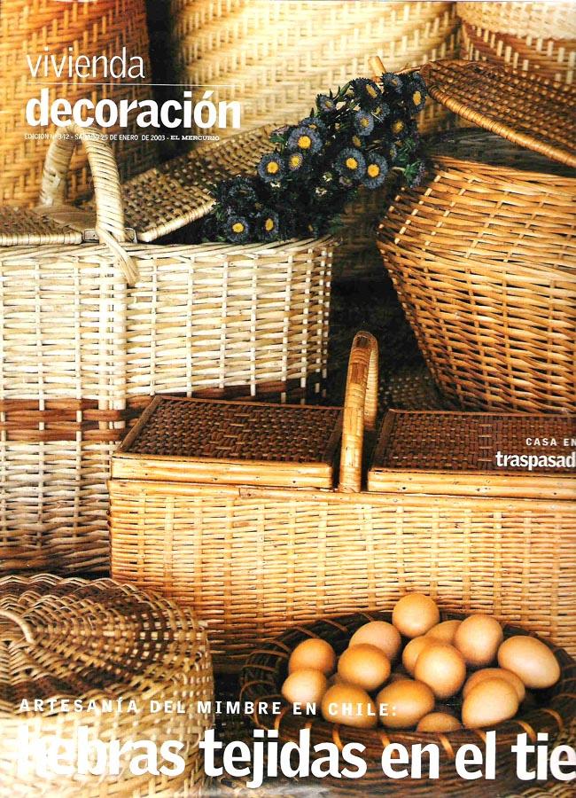 Vivienda y Decoración - El Mercurio: Reportaje de Obra 1